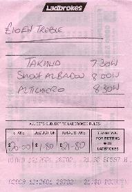 how to write a betting slip double